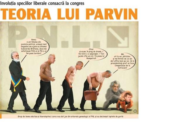 Evolutia lui Parvin